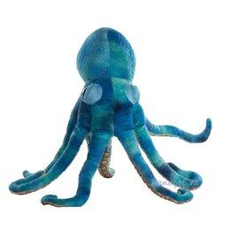 The Puppet Company handpop octopus blauw