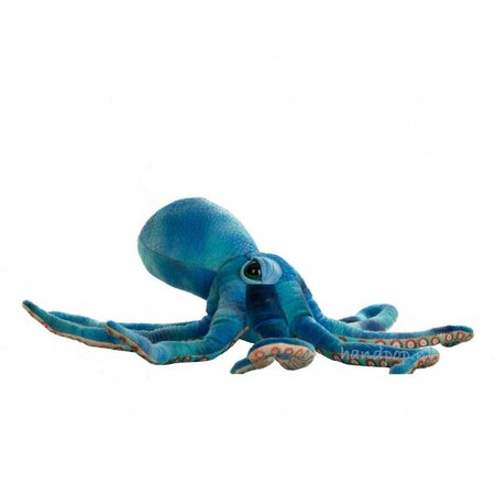 The Puppet Company blauwe octopus