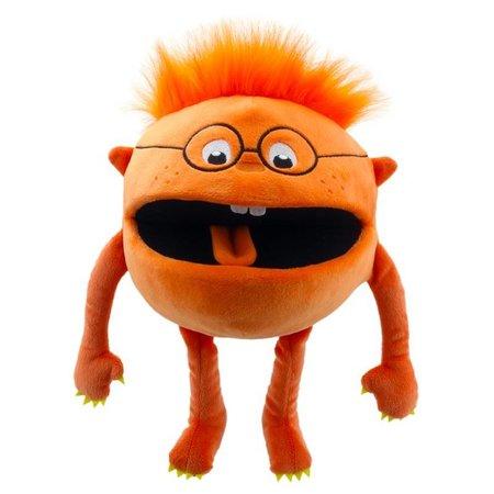 The Puppet Company Oranje het baby monstertje