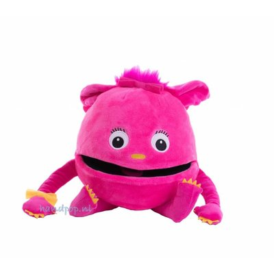 The Puppet Company handpop babymonster roze