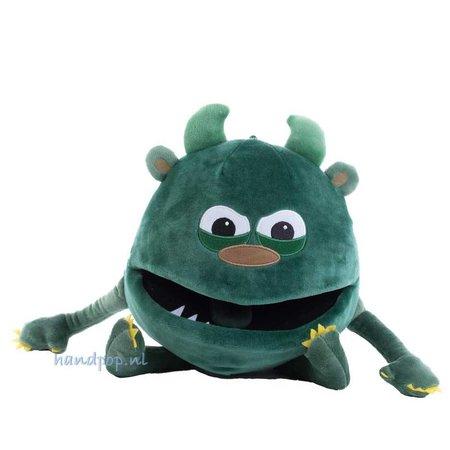 The Puppet Company Groentje het baby monstertje