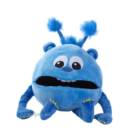 The Puppet Company Blauwtje het baby monstertje