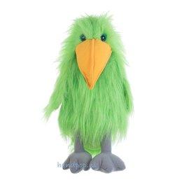 The Puppet Company handpop vogel groen