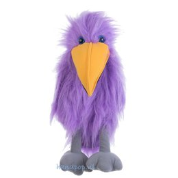 The Puppet Company handpop vogel paars