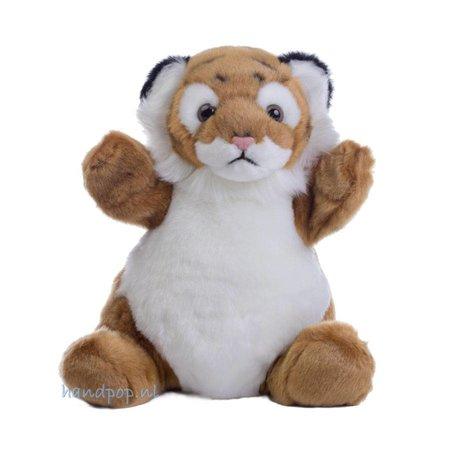 The Puppet Company handpop knuffelig tijgertje