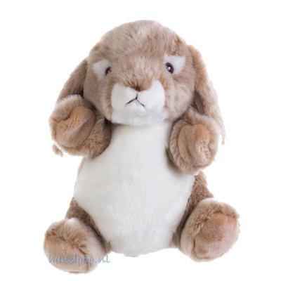 The Puppet Company handpop konijn wild cuddly tumms