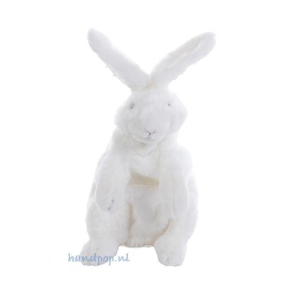 Folkmanis handpop konijn wit