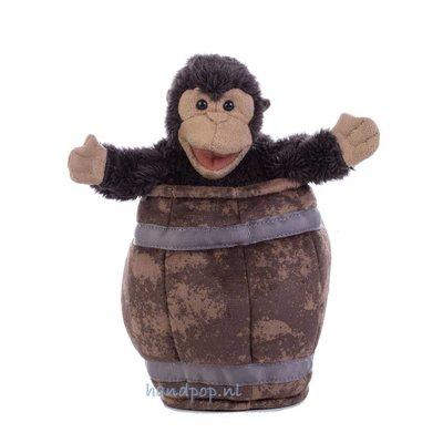 Folkmanis handpop aap in ton