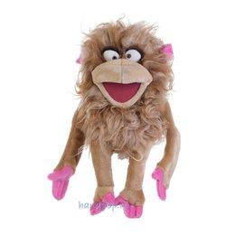 Living Puppets handpop aap Jim-Panse