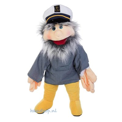 Living Puppets handpop Kapitein Hansen