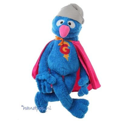 Living Puppets Super Grover