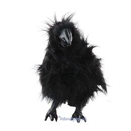 Folkmanis handpop raaf zwart