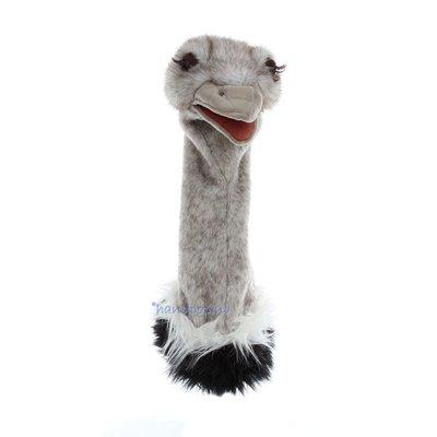 Folkmanis handpop struisvogel dierkop