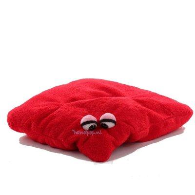 Living Puppets Troetelkussen rood