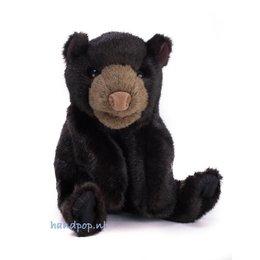 Folkmanis handpop beer zwart klein