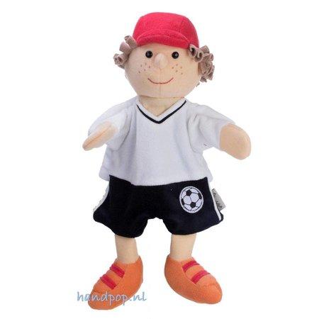 Sterntaler poppenkastpop voetballer