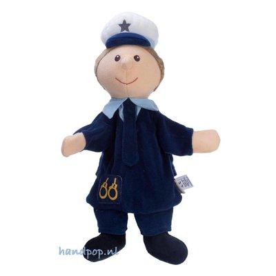 Sterntaler Politieman poppenkastpop 32 cm