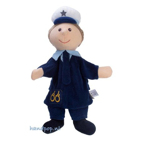 Sterntaler poppenkastpop Politieman