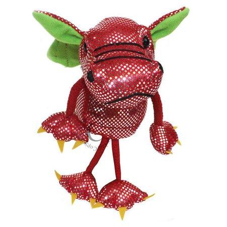 The Puppet Company vingerpopje rode draak