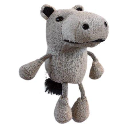 The Puppet Company vingerpopje nijlpaard