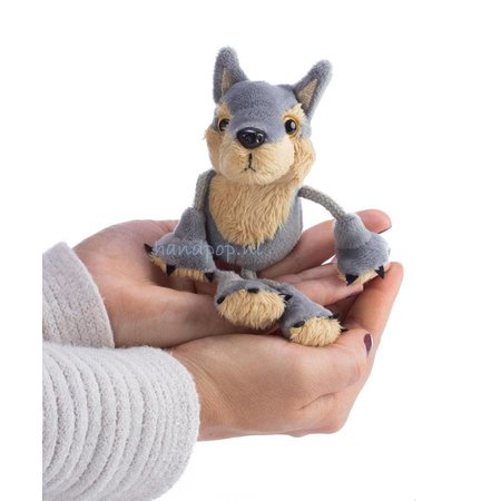 The Puppet Company vingerpopje wolf