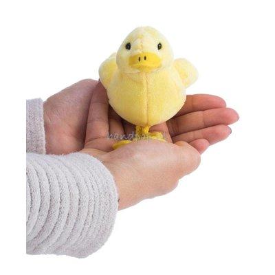 The Puppet Company eend geel vingerpopje