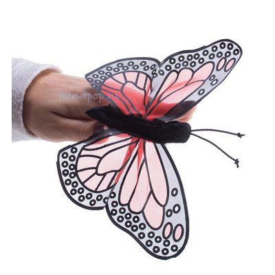 Folkmanis vlinder vingerpopje
