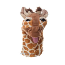 Folkmanis handpop giraffe klein