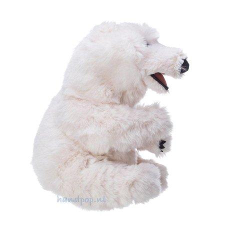 Folkmanis handpop zittende ijsbeer