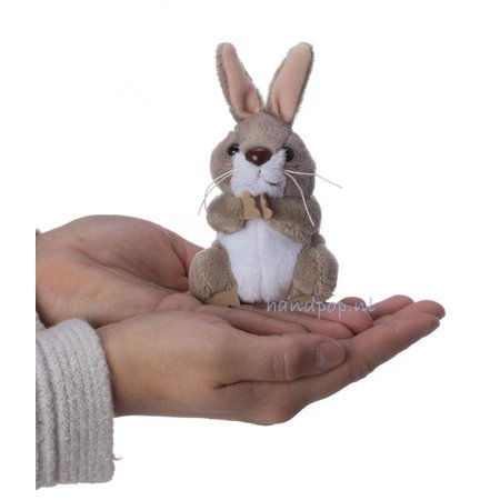 The Puppet Company vingerpopje konijn