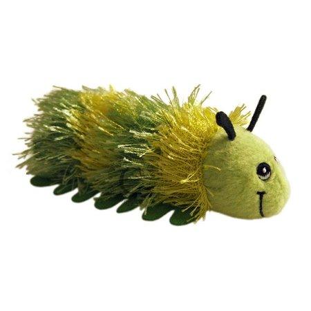 The Puppet Company vingerpopje rups groen