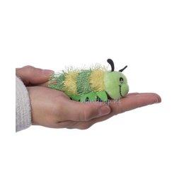The Puppet Company rups groen vingerpopje