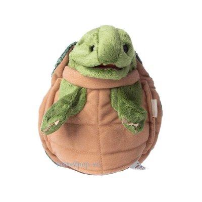 Folkmanis handpop schildpad klein