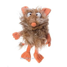 Living Puppets handpop Flausi bruin