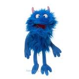 Living Puppets handpop Schmackes, blauw