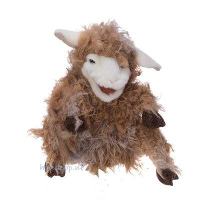 Folkmanis handpop schaap bruin