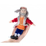 The Puppet Company koning vingerpopje