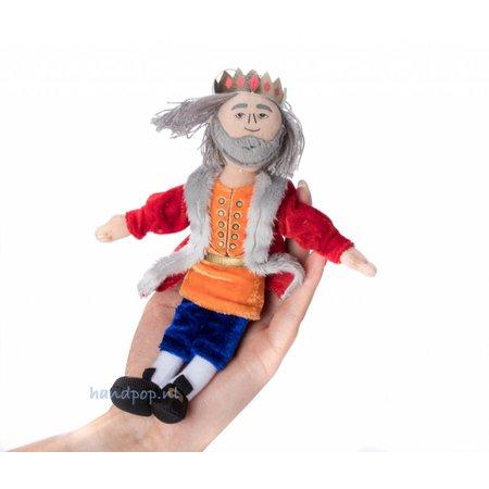 The Puppet Company vingerpopje koning