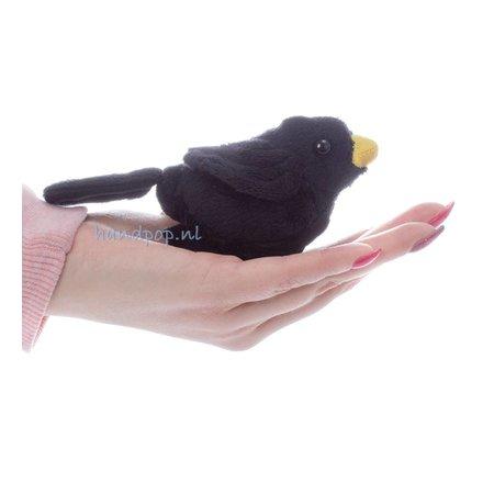 The Puppet Company vingerpopje merel