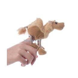 The Puppet Company kameel vingerpopje