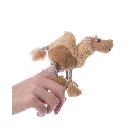 The Puppet Company vingerpopje kameel