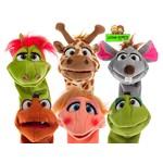 Sokpoppen van Living Puppets
