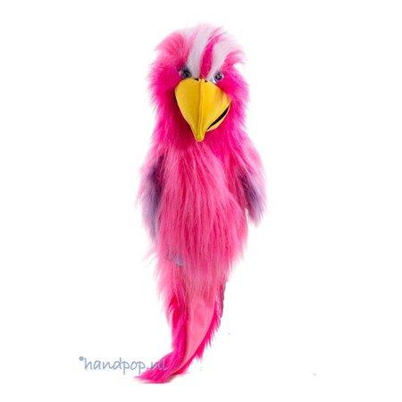 The Puppet Company handpop kaketoe roze
