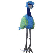 The Puppet Company handpop emoe blauw
