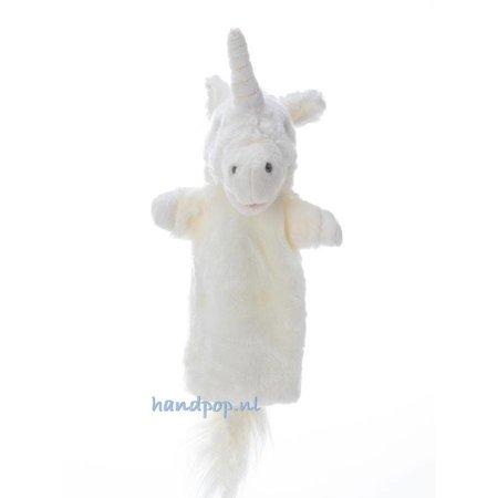 The Puppet Company witte eenhoorn