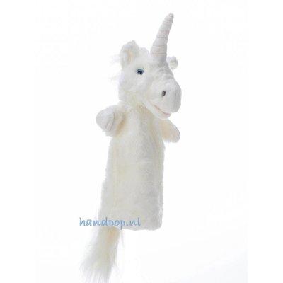 The Puppet Company handpop eenhoorn wit