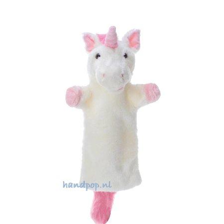 The Puppet Company roze eenhoorn