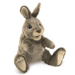 Folkmanis handpop konijn katoenstaartje