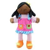 The Puppet Company poppenkastpop meisje donker
