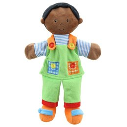 The Puppet Company poppenkastpop jongen donker